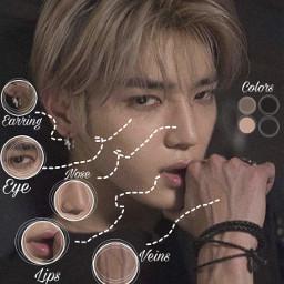 taeyong ncttaeyong veins anatomy anatomyedit freetoedit