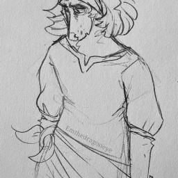drawing ascot anthro furry fox