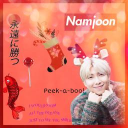 ms10kcontest😜 rm namjoonedit red christmas/chinesenewyear freetoedit