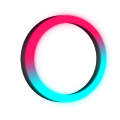 circle 3d neon frame 4asno4i freetoedit ftestickers