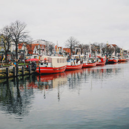 warnem winter port germany