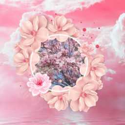 pink pinkaesthetic flowers freetoedit