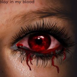 blood eye bloodeye red redeye freetoedit ircmysteriouseye mysteriouseye