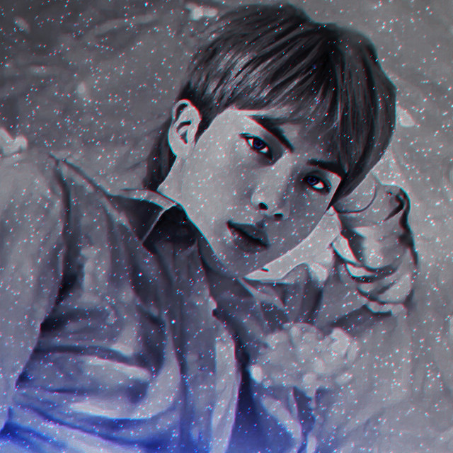 """If You Look Up """"Perfection"""" In The Dictonary Then You Get The Image, Dont Check....Just Trust Me 😂💜💙  BTS Kim Seokjin Blue Soft Aesthetic 💙💜  Make Sure To Like, Comment And Repost 💜  Follow My Instagram @/official_joonieedits 💙  Tags: #bts #stars #blue #neon #jin #kpop #aesthetic #madewithpicsart  #freetoedit"""