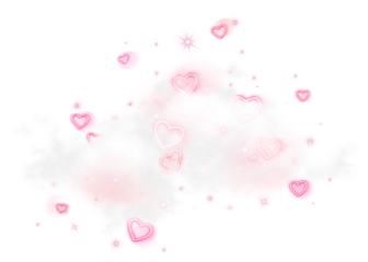 cloud heart soft pink freetoedit