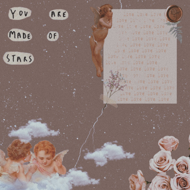 #freetoedit Some angels #aesthetic #aesthetics #retro #vintage #angel #angels #ancient #brown #brownaesthetic #beige #beigeaesthetic #note #newspaper #note #rose #clouds #love #quote #quotes #text