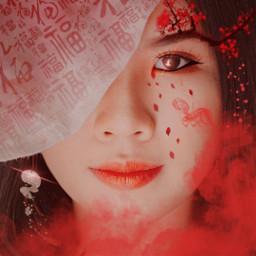 chinesenewyear chinese chinesegirl girl portrait freetoedit myeditoffreetoedit