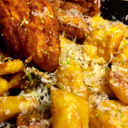 chicken gnocchi spicy homemade homecooking