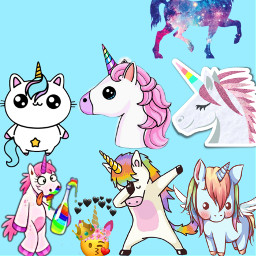 unicornio🌈 freetoedit unicornio