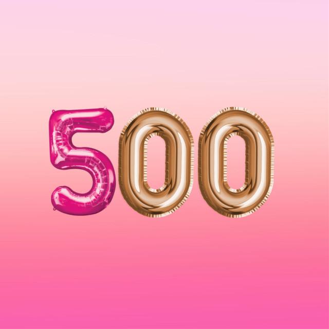 #freetoedit thank you for 500 followers #500 #thankyou ❤️