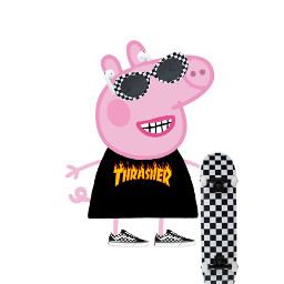 freetoedit peppapig trasher