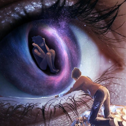 freetoedit galaxy galaxyeye depression mentalhealthmatters