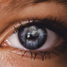 freetoedit eye blueeyes eyesblue clouds ircmysteriouseye mysteriouseye