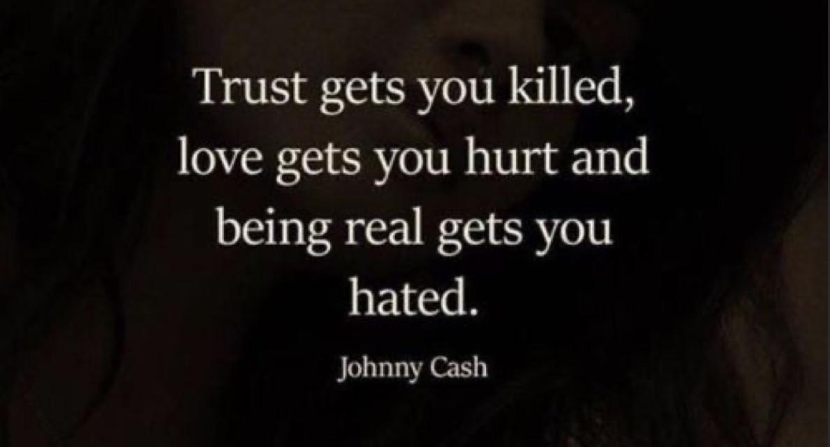 Tbh true   #freetoedit #trust #love #real #hated #killed #hurt #pinterest #true