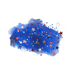 freetoedit watercolor blue sky stars