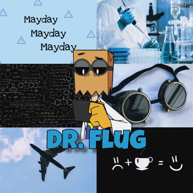 #freetoedit #drflug #villainousedits #villanos #pilots #scientist #background #blue #fly #flug