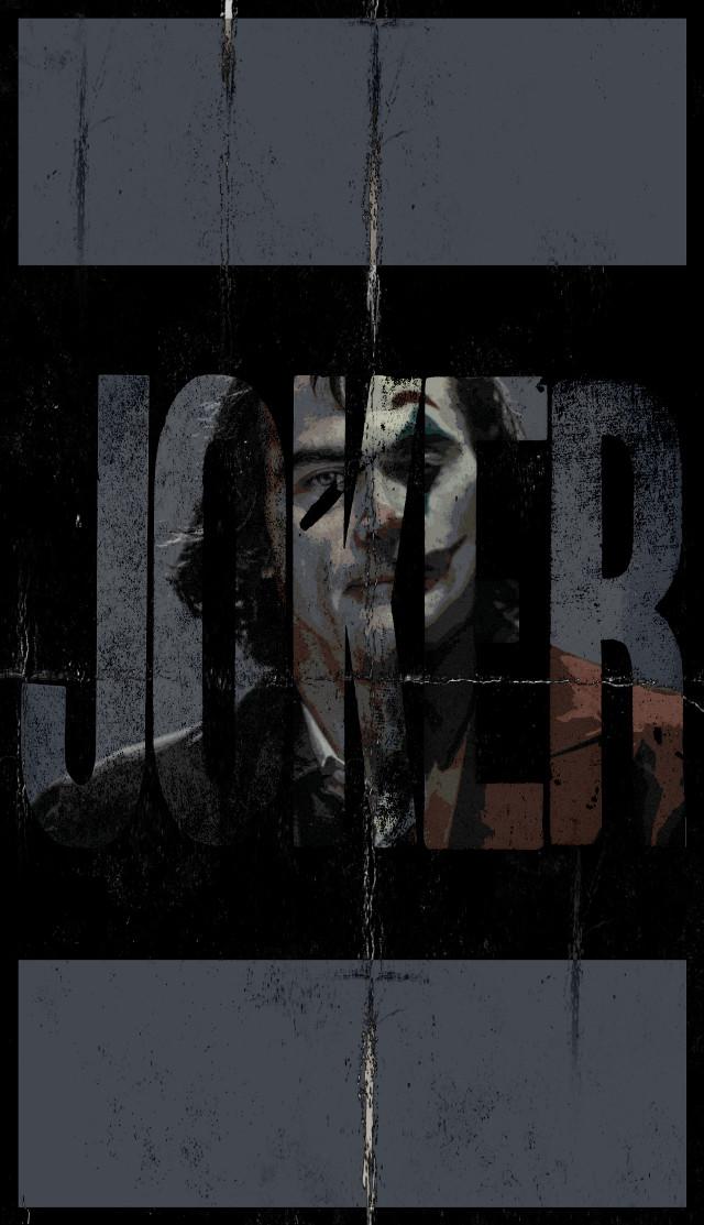 #freetoedit #joaquinphoenix #joker #gotham #arthurfleck #batman #dark #movie #poster #2019 #2020 #cinema #art #edit