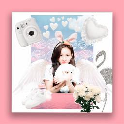 freetoedittwice twicenayeon nayeon pink white freetoedit