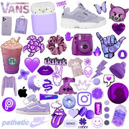 freetoedit vsco sticker purple morado