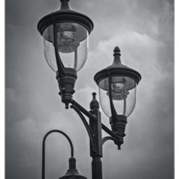 streetlamps blackandwhite bnw lowangle freetoedit