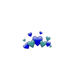 blue heart hearts bluehearts freetoedit
