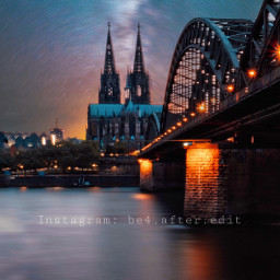 freetoedit nightphotography cologne kölnerdom sky