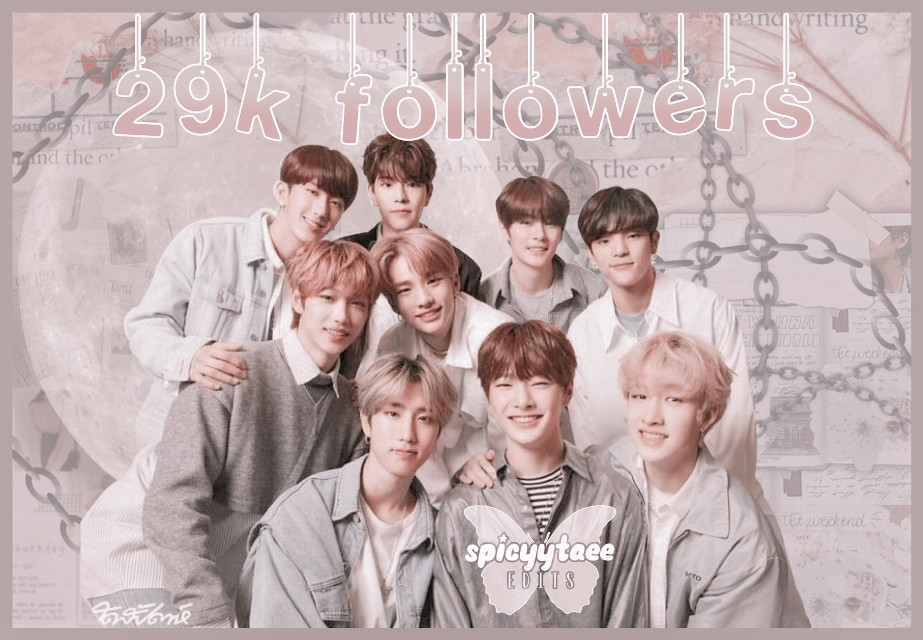 🧚🏻❀༄ [2 9 k. f o l l o w e r s]   ˗✎*✉️ ❁༺  Thank you all for 29k followers🥺 i appreciate it and love every single one of my fairies T^T thank you for following me although i barley post anymore, love you allll ^^  ˗✎*🧸❁༺    ──── ・ 。゚☆: *.☽ .* :☆゚. ────   ↳[i n f o r m a t i o n]✰*.:。✧*  ˗✎*🎐❁༺  ➳ a b o u t   e d i t [⏳] ∾ 00:16:32 [🗓] ∾ Jan 30 [🕒] ∾ 10:30pm [📱] ∾ picsart polarr phonto [👤] ∾ Stray Kids  ˗✎*🍒❁༺  ➳ b e h i n d   s c e n e s [🎼] ∾ MIROH - Stray Kids [💭] ∾ 9/10 [🤍] ∾ mood-🥺🥰  ˗✎*🧚🏻‍♀️❁༺  🧚🏻❀༄ Like, share, and follow [@spicyytaee] (me) for more ^^  ˗✎*🥂❁༺  ┍━━━━━━»•»🍨«•«━┑             deysi signing out..... ┕━»•»🍨«•«━━━━━━┙  ˗✎*🍼🍌❁༺  [🏷] tAgSs #kpop #straykids #woojin #felix #hanjisung #hyunjin #changbin #bangchan #seungmin #leeknow #jeonjin