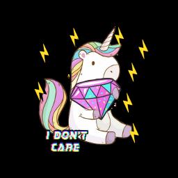 freetoedit unicornio diamanete magic idontcare