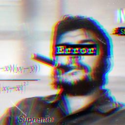freetoedit glitch smoke chill