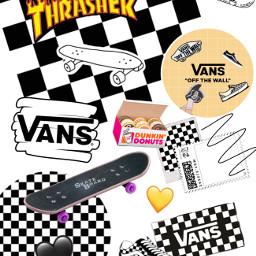 skate skateboard vans skatergirl trasher freetoedit