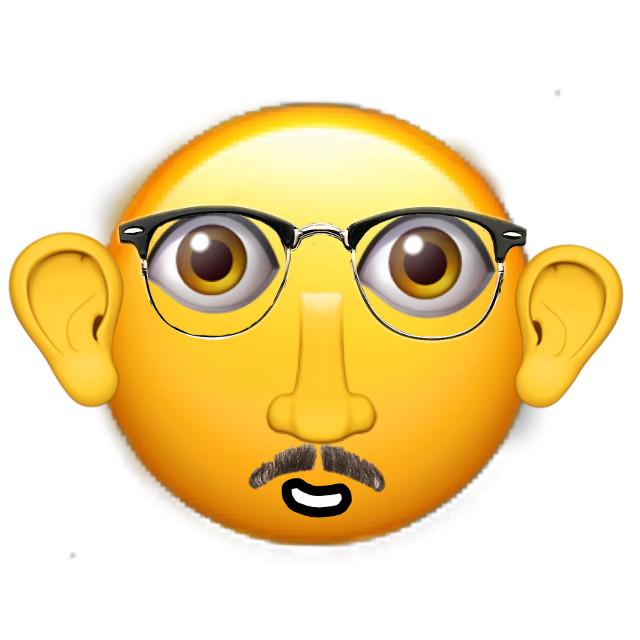 #freetoedit i emojied my dad