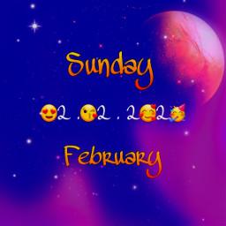 freetoedit february february2020 happysunday blue