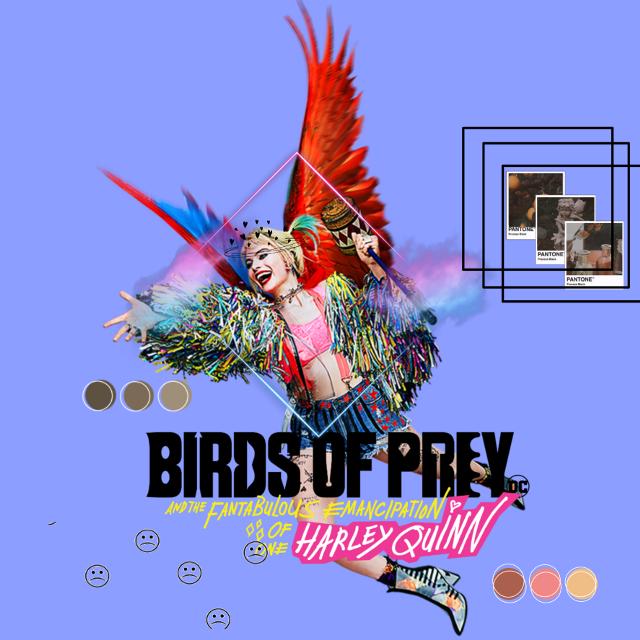 #freetoedit  BIRDS OF PREY>>HARLEY QUINN♡