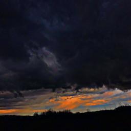 rain sky interesting nature dark