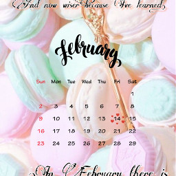 cool february belive quotes candy freetoedit srcfebruarycalendar februarycalendar