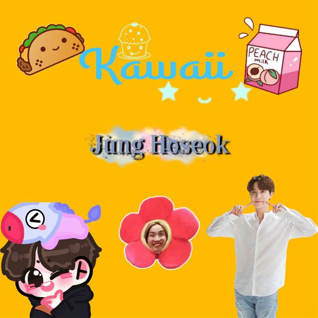 #junghoseok #cute #kawaii #bts #j-hope #j-hope_bts