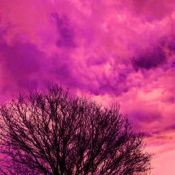 freetoedit editedbyme sky nature pink