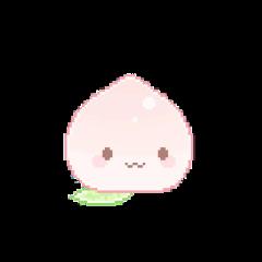 pixel pixelart peach cute freetoedit