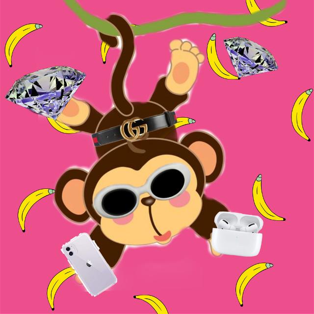 ayooo rich monkey check #freetoedit