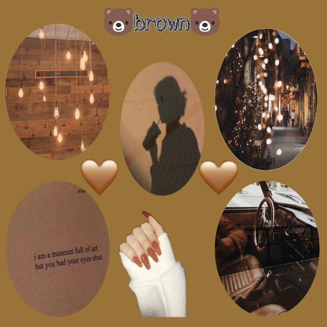 #freetoedit #brown #brownaesthetic #coffecolor