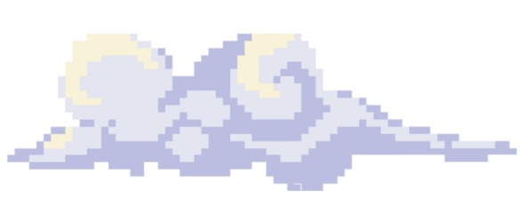 pixel pixelart cloud clouds freetoedit
