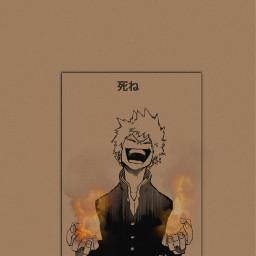 freetoedit baku bakugo bakugou katsuki
