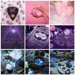 wicca witchcraft pride aesthetic bisexual