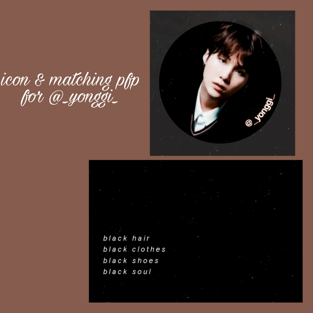 Hope u like it sweety🖤 @_yonggi_   I guess black is ur fav colour, right!?🌚  Pics in comments