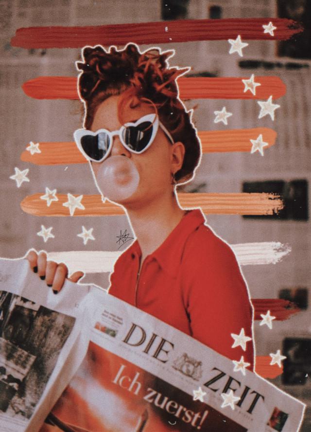 🧡❤🧡❤🧡❤ #freetoedit #orange #red #yellow #sun #retro #vintage #stripes #colors #bubblegum #stars #brush #picoftheday #picsart #myedit #madewithpicsart #heypicsart #vintage #color