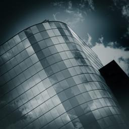 architecture reflection kansascity blackandwhite bnw freetoedit