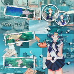 freetoedit sailormoon sailorneptune neptune anime