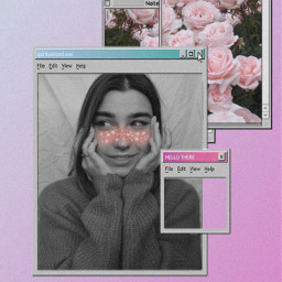 freetoedit collage computer computeraesthetic freckles