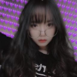 korean ulzzang purple doitright korea