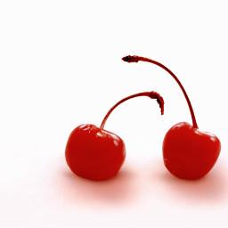 foodphotography cherries redandwhite two minimal freetoedit